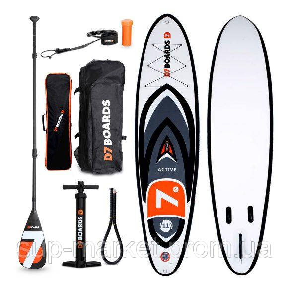 Wind SUP доска D7 Boards Active 11'0'' x 32'' x 4,75'', 2019
