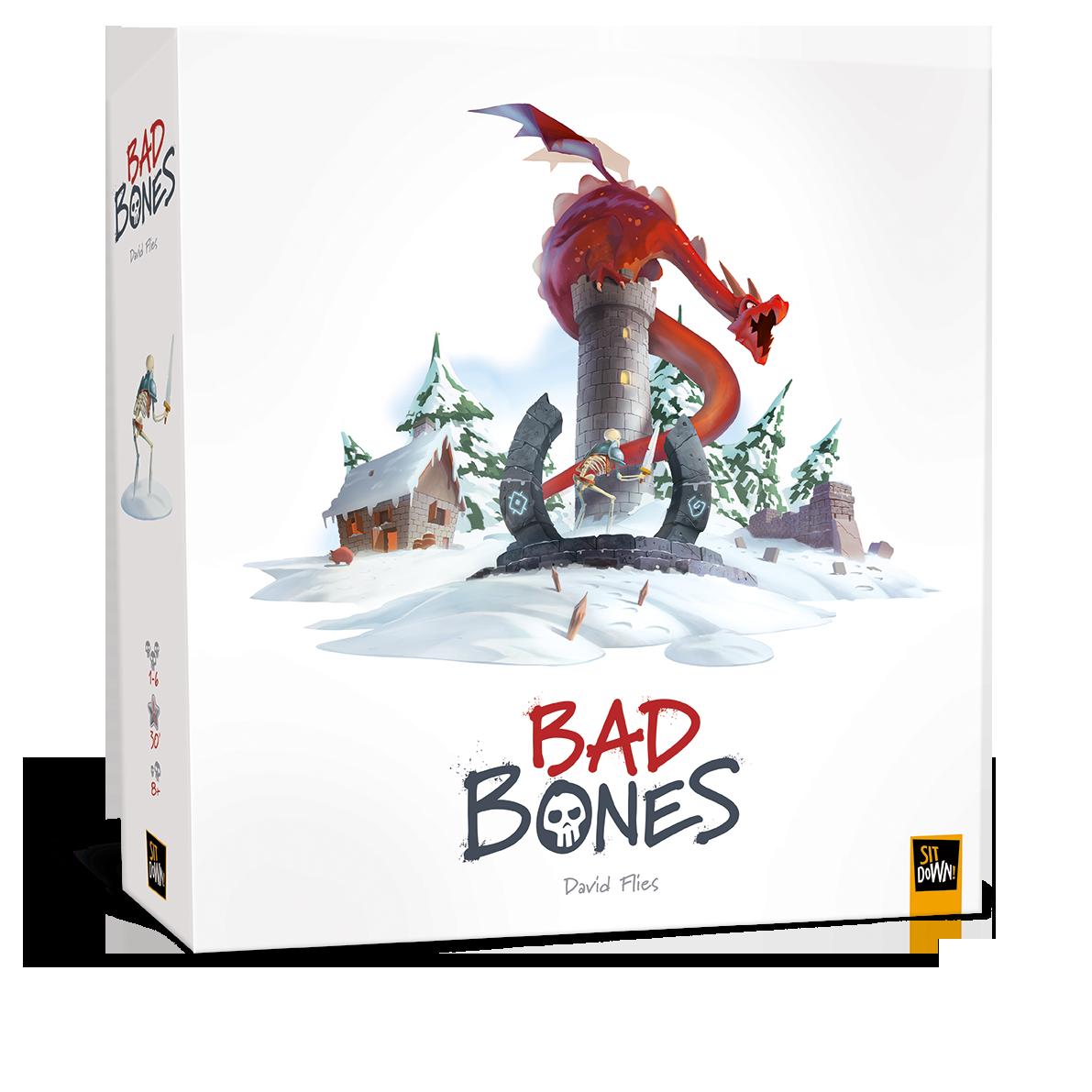 Настільна гра Bad Bones (Непрохані кістки)
