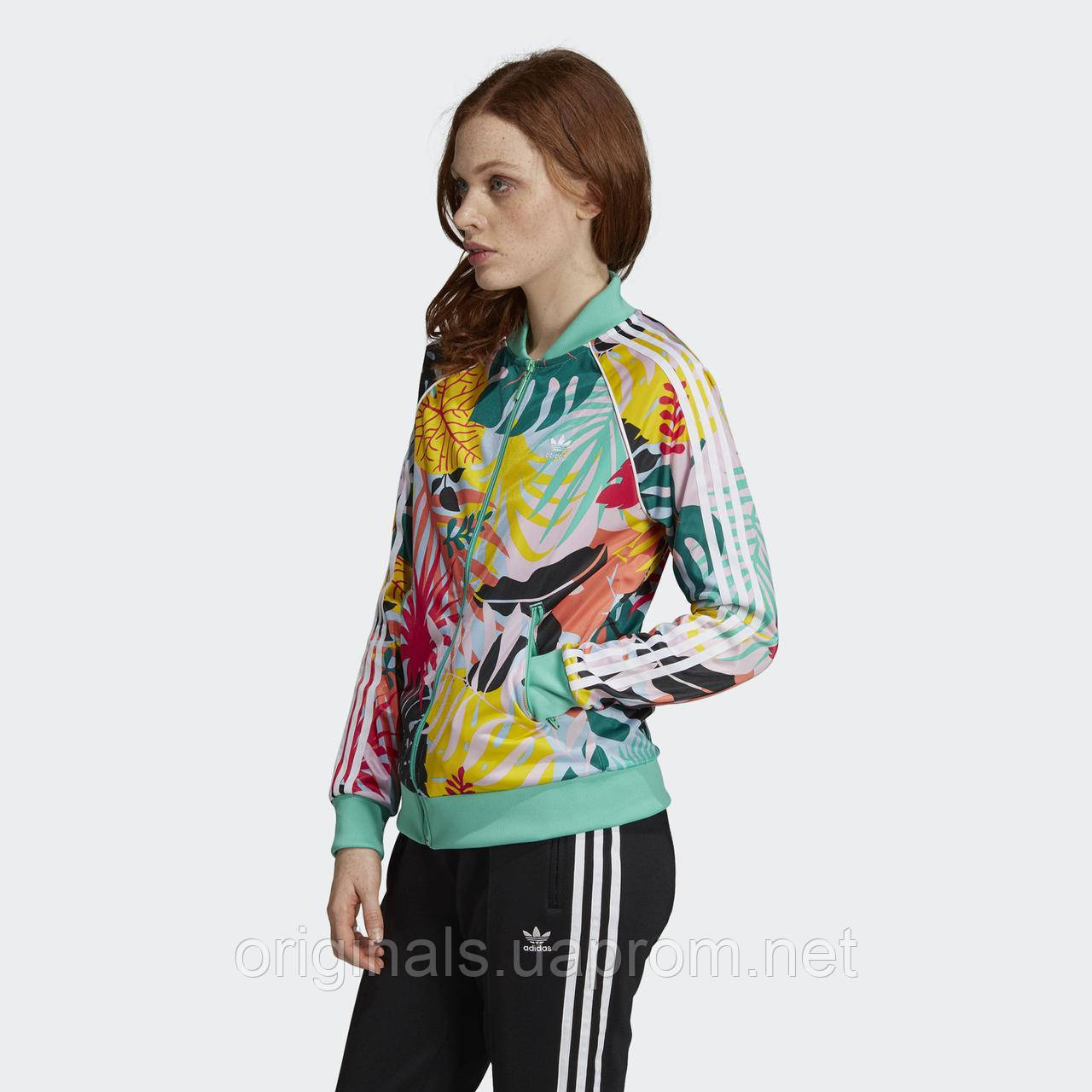 Женская олимпийка Adidas Tropicalage Superstar Graphic FH7991