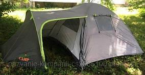 Палатка 4-х местная GreenCamp 1009-2, 2 входа
