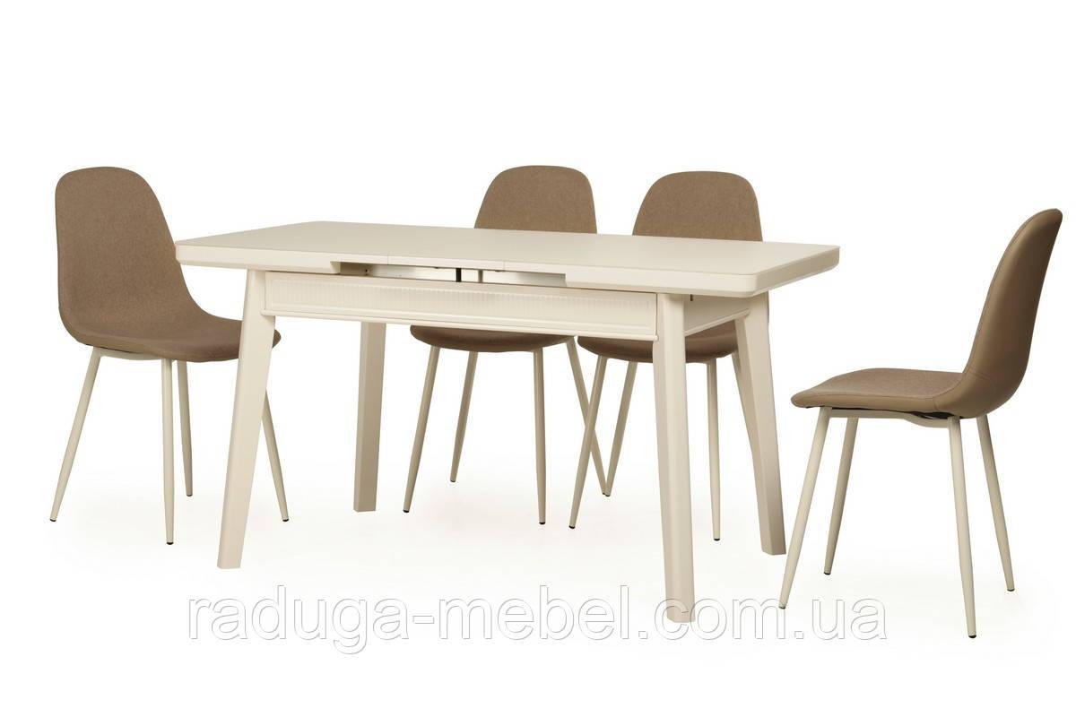 Стол кухонный обеденный белый TМ-73
