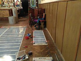 Монтаж теплої підлоги у церкві с.Стратин (Рогатинський р-н) 4