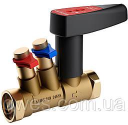 Балансировочный клапан Ballorex Venturi FODRV DN20L Py16, без дренажа, резьбовой