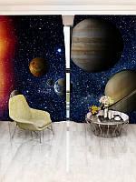 Фотошторы WallDeco Планеты (16798_1_1)
