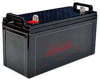 Лодочный электромотор Fisher 46 + герметичный аккумулятор 120 Ач (AGM), фото 3