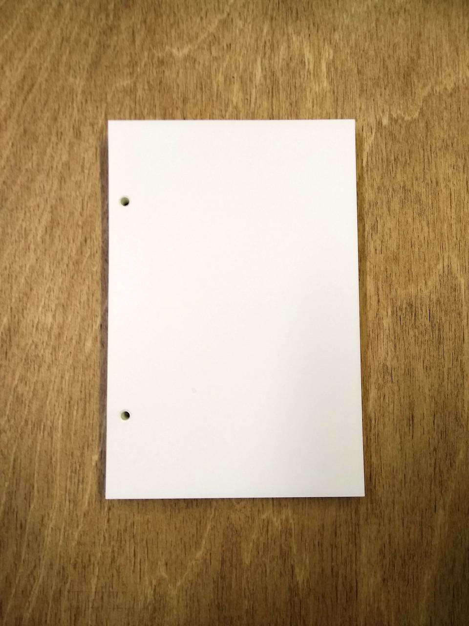 Сменный блок бумаги В6 формата
