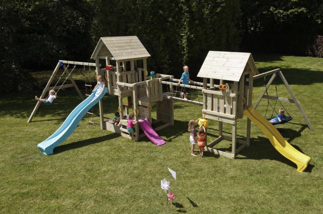 Большая детская игровая спортивная площадка на улицу Blue Rabbit KIDPARK