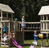 Большая детская игровая спортивная площадка на улицу Blue Rabbit KIDPARK, фото 3
