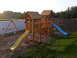 Большая детская игровая спортивная площадка на улицу Blue Rabbit KIDPARK, фото 6