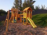 Большая детская игровая спортивная площадка на улицу Blue Rabbit KIDPARK, фото 7
