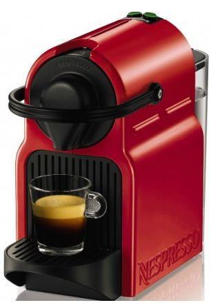 Капсульна кавоварка Nespresso Inissia Red (Неспрессо)