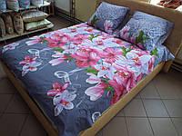 Комплект постельного белья ранфорс Дымка Семейный
