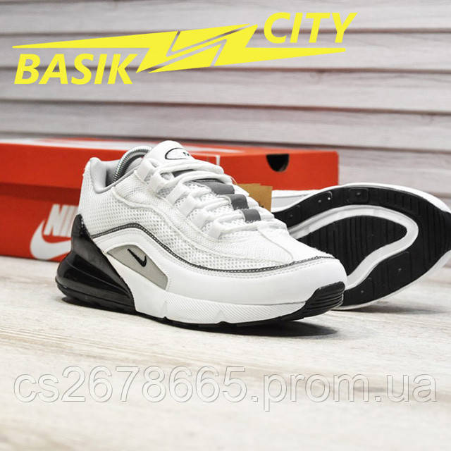 Мужские кроссовки Nike Air Max Hybrid 270-97 White фото описания