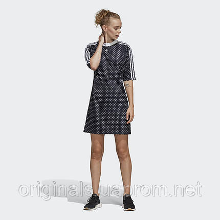64f27959a72a7 Женское платье Adidas 3-Stripes Allover-Print W DU9723 - 2019, фото 2