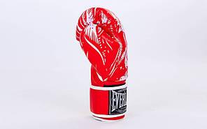 Перчатки боксерские FLEX на липучке ELAST SKULL BO-5493 (р-р 8-12oz, цвета в ассортименте), фото 3
