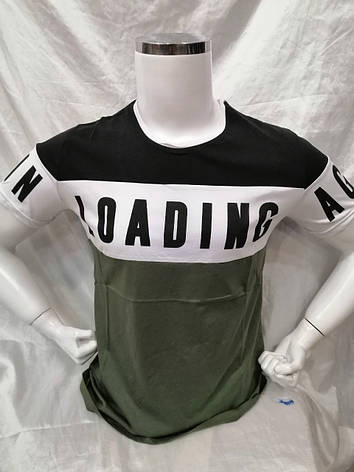 Стильная мужская футболка Madmext с круглой горловиной Модель 2974 , фото 2