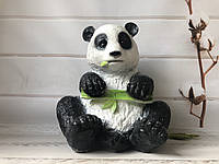 Садовая фигура панда h 35 см
