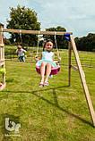 Качели SWING для детской спортплощадки Blue Rabbit, фото 5
