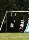 Качели SWING для детской спортплощадки Blue Rabbit, фото 10