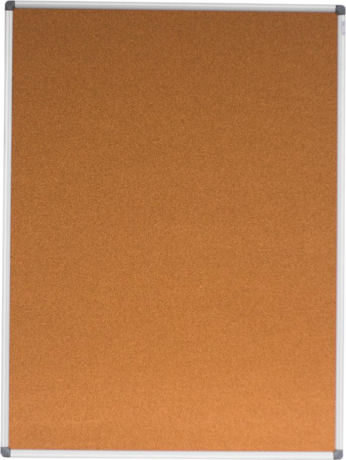 Дошка коркова, 90х120см, алюмінієва рамка