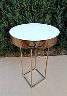 Глянцевый стол для росписи, стол, декор свадебный