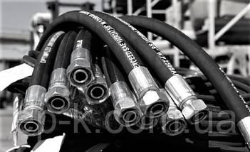 Рукав высокого давления штуцерованный (РВД) Кл.36 М 30*1,5 L=1900 мм, фото 2