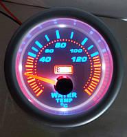 Указатель температуры воды стрелочный Ket Gauge 7702-3 LED диодный Ø52мм прибор датчик автомобильный