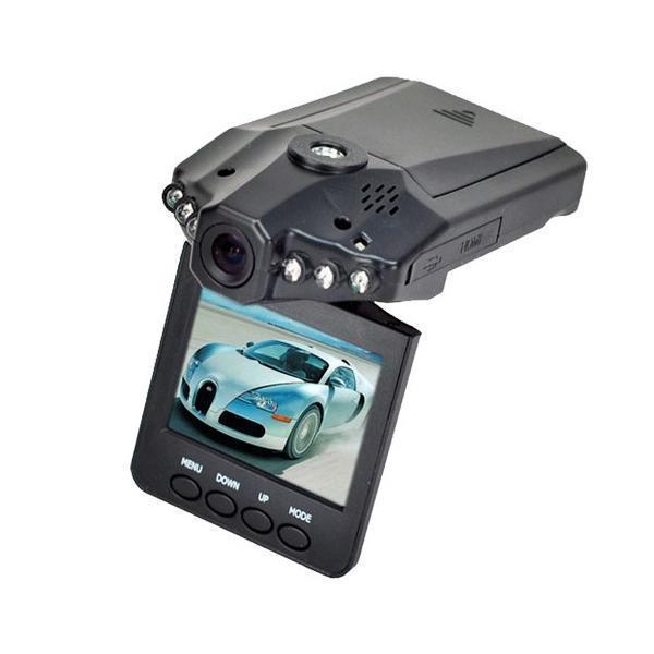 Автомобильный видеорегистратор 198 HD DVR 2.5 LCD съемка день/ночь