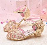Босоножки, туфли праздничные для девочки , фото 4