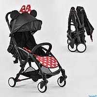 Детская прогулочная коляска W 2290 JOY Книжка цвет Минни Маус