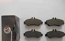 Колодки тормозные зад Sprinter 209-319CDI/Crafter 30-35, 06-