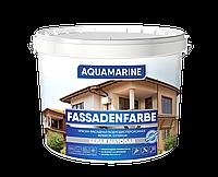 """Краска фасадная воднодисперсионная """"AQUAMARINE"""" TM """"Корабельная"""" 1,4 кг"""