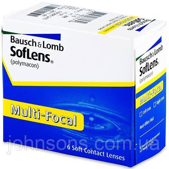 Контактные линзы Soflens Multi-focal (6 шт.)