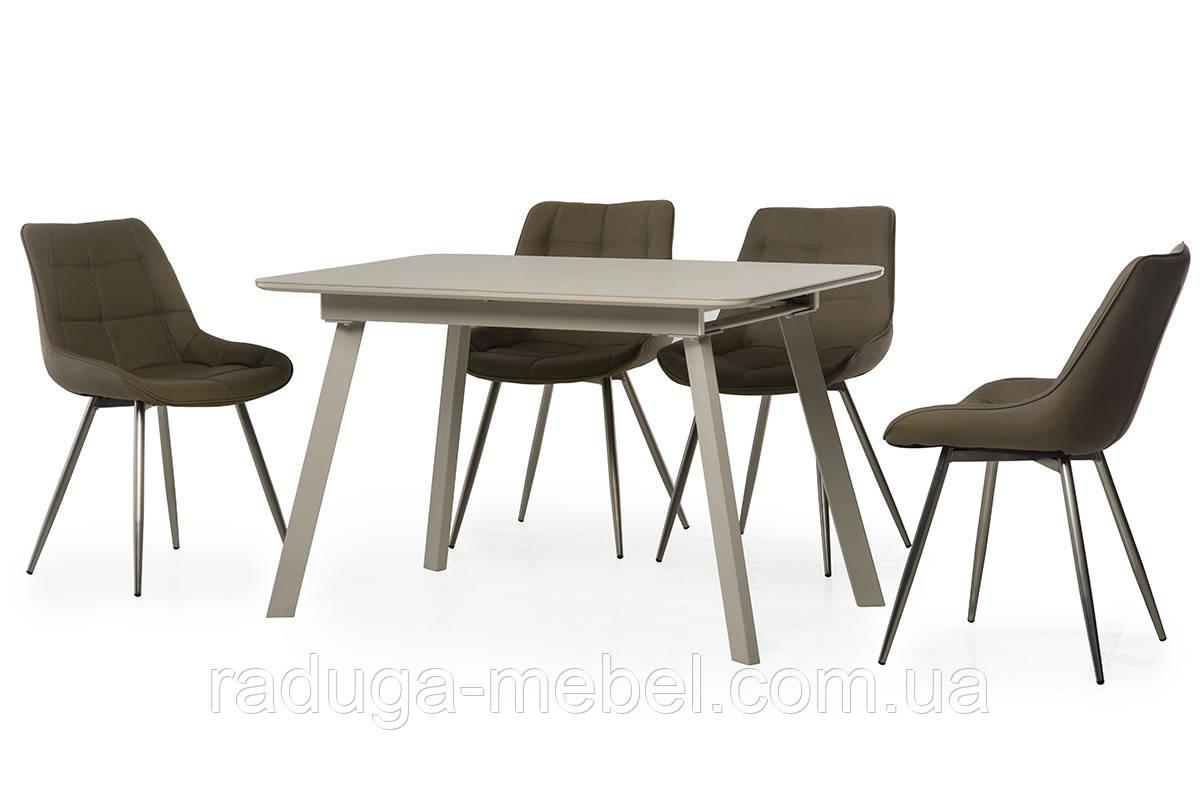 Стол кухонный обеденный капучино TМ-170
