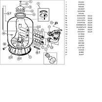 Фильтр для бассейна HAYWARD серии PowerLine 81114 (14 м3/час, 150 кг песка), фото 3