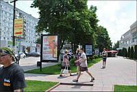 Размещение наружной рекламы на ситилайтах г.Новомосковск