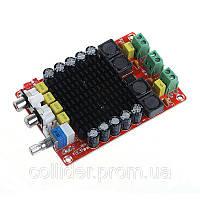 Усилитель D-клас, 2*100Вт TDA7498 DC 14-36V підсилювач звука аудіо стерео авто мото, фото 1