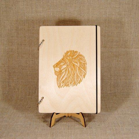 Блокнот В6. Скетчбук. Блокнот с деревянной обложкой. Блокнот в деревянном переплете. Деревянный блокнот