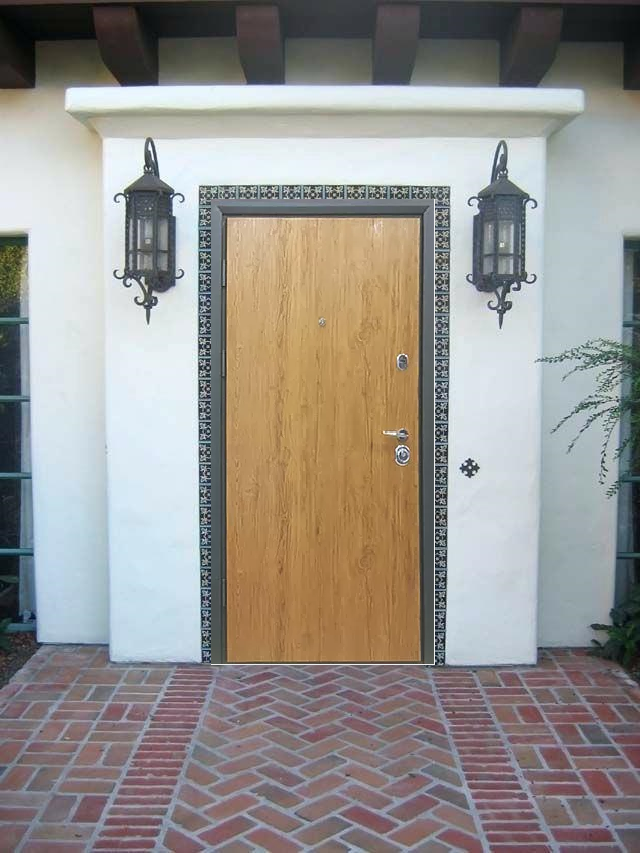 """Входные двери """"Стильные двери"""" серии Коттедж Дуб"""