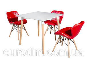 Стул обеденный AXEL DS-926 красный, фото 2