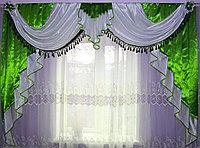 Ламбрекены на ширину карниза 3 метра