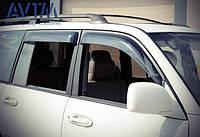 Дефлекторы окон (ветровики) Toyota Land Cruiser 100/Lexus LX470 1997-2007  (широкие)