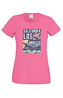 Футболка LOS ANGELES женская цветная, фото 1