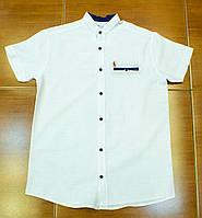 Стильная рубашка ,шведка  для мальчика рост 134-152 см, фото 1
