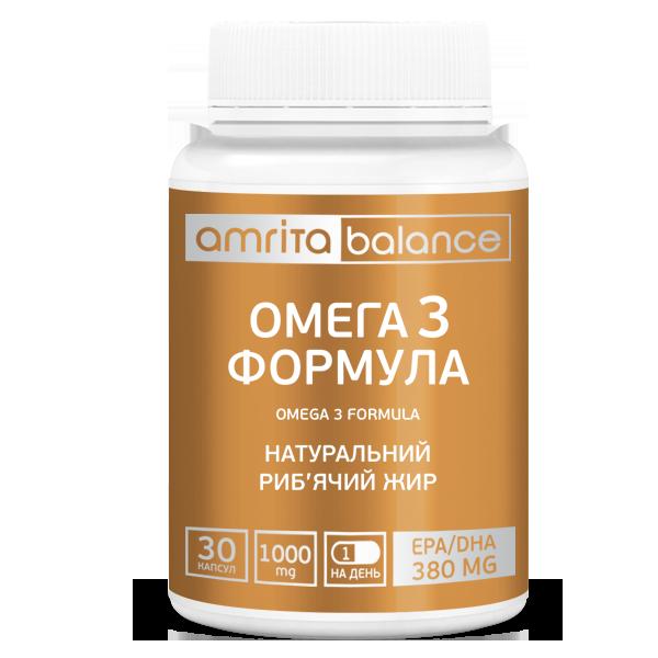 Омега-3 формула, 30 капс. Тройная сила 1 000 мг. EPA / DHA- 390. Производитель Stepan S( Мейвуд,США)