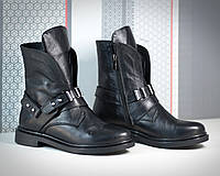 """Женские ботинки """"Bleik"""" из натуральной кожи в моделях.  АЛ-8-0319"""