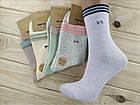 Носки женские высокие деми UYUT women cotton socks хлопок 36-41р.бесшовные с двойной пяткой ассорти НЖД-021245, фото 2