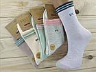 Носки женские высокие деми UYUT women cotton socks хлопок 36-41р.бесшовные с двойной пяткой ассорти НЖД-021245, фото 3