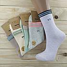 Носки женские высокие деми UYUT women cotton socks хлопок 36-41р.бесшовные с двойной пяткой ассорти НЖД-021245, фото 6
