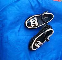 Туфли черные для девочки 26 р-р